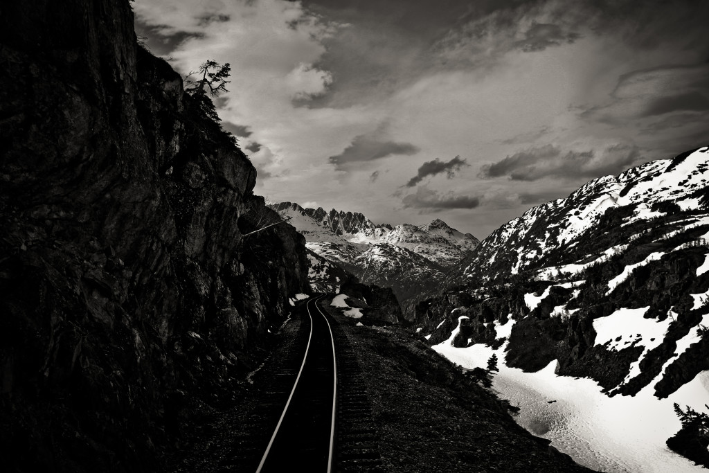 White Pass & Yukon Route Railway - Sawtooth Mountain